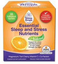 Sleepdrops Essential Sleep & Stress Nutrients (15 x 10g Sachets)