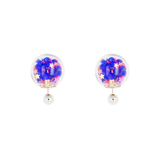 Short Story: Bubble Earring Star Blue