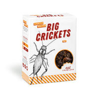 Eat Crawlers: Lightly Salted Big Crickets (20g)