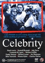 Celebrity on DVD image