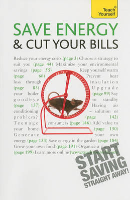 Teach Yourself: Save Energy and Cut Your Bills by Nick White image