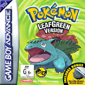 Pokemon: LeafGreen for Game Boy Advance