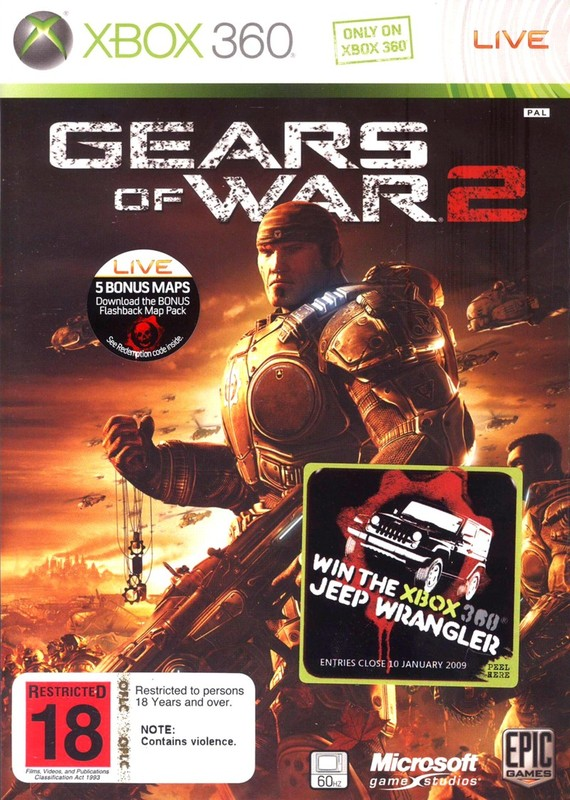 Gears of War 2 (Classics) for X360