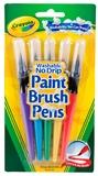 5 Washable Paint Brush Pens - Crayola