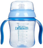 Dr Brown's 180ml Training Cup - Soft Spout (Blue)