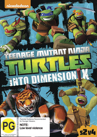 Teenage Mutant Ninja Turtles: Season 2, Volume 4 Into Dimension X on DVD