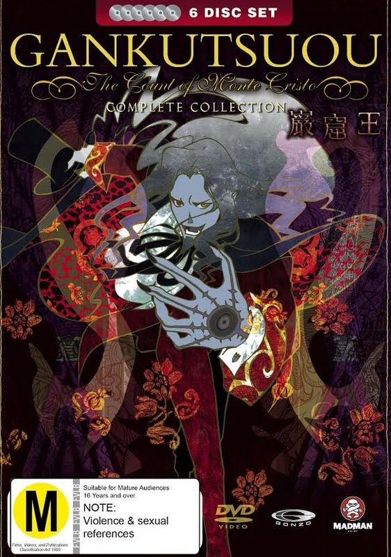 Gankutsuou - The Count Of Monte Cristo: Complete Collection on DVD