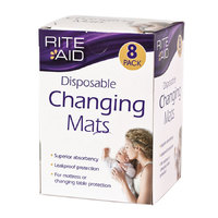Rite Aid - Disposable Changing Mats image