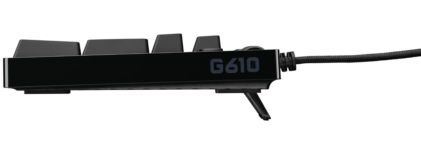 Logitech G610 Backlit Mechanical Keyboard (Cherry MX Blue) for  image