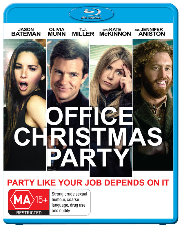 Office Christmas Party on Blu-ray