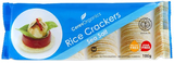 Ceres Organics Sea Salt Rice Crackers 100g