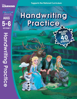 Frozen Magic of the Northern Lights: Handwriting Practice (Ages 5-6) by Scholastic