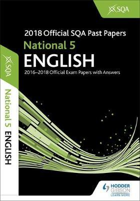 National 5 English 2018-19 SQA Past Papers with Answers by SQA image