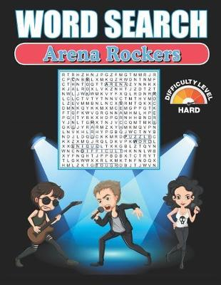 Word Search Arena Rockers by Greater Heights Publishing