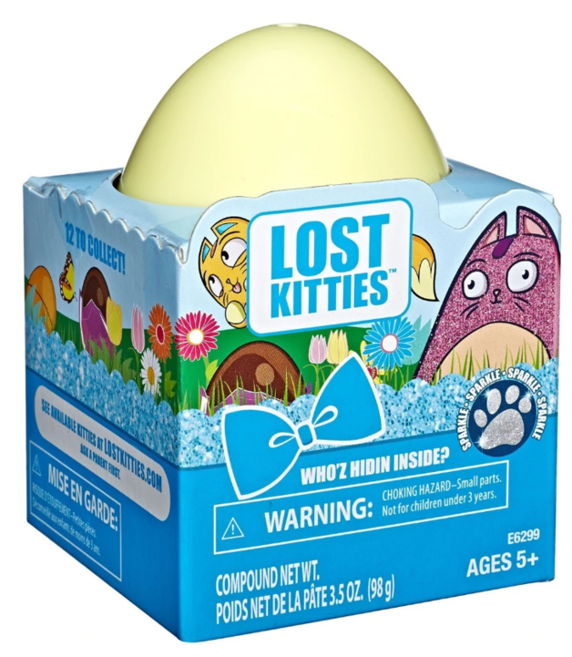 Lost Kitties: Who'z Hidin Inside? - Special Glitter Edition