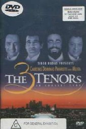 The 3 Tenors - In Concert on DVD