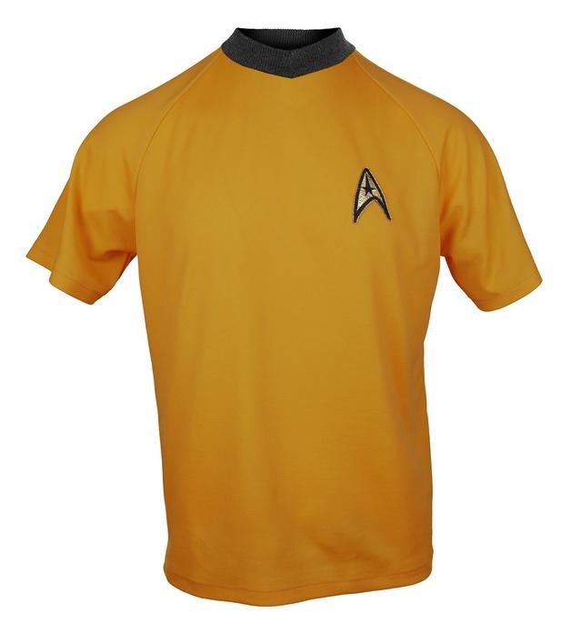 Star Trek: Command Gold Retro Starfleet T-Shirt - XL