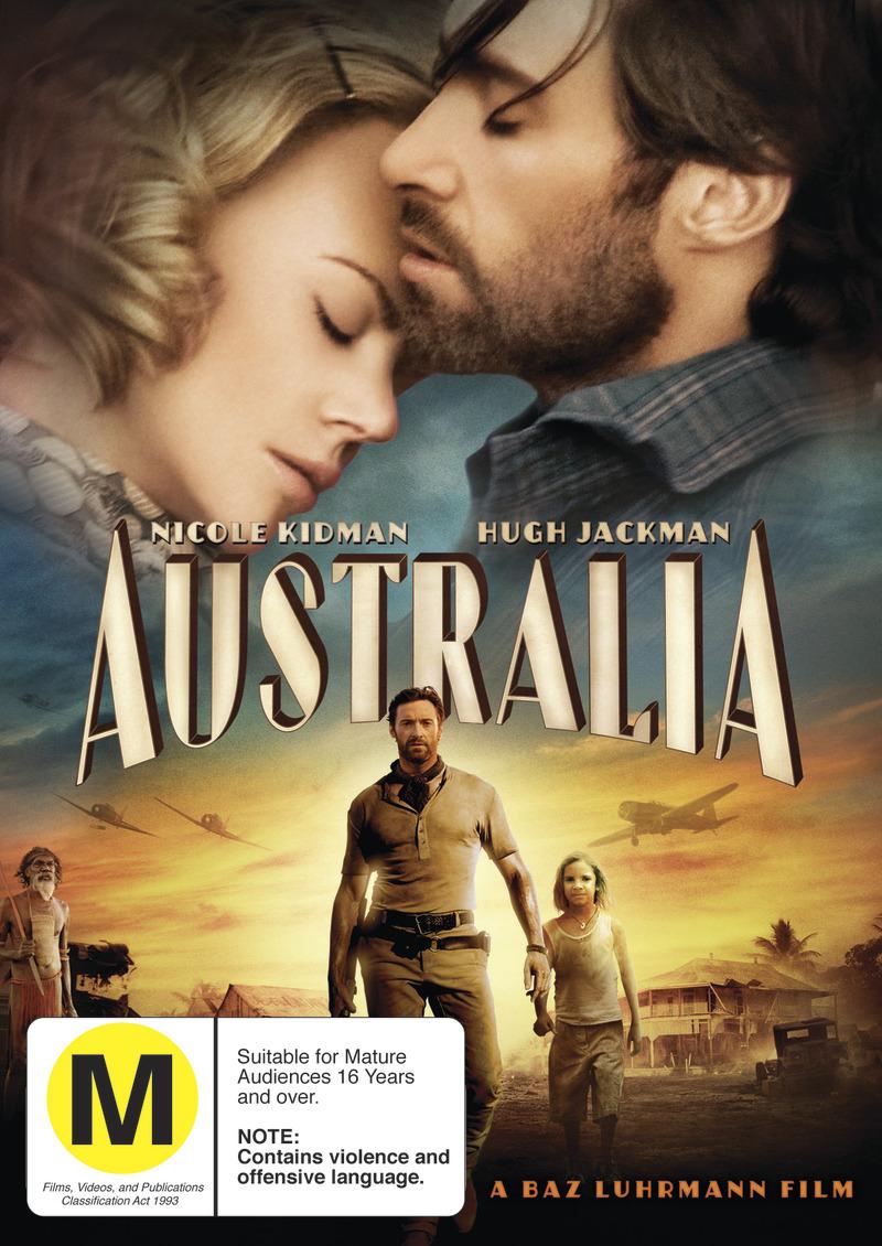 Australia on DVD image