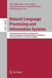 Natural Language Processing and Information Systems image