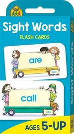 School Zone Beginning Sight Words Flash Cards