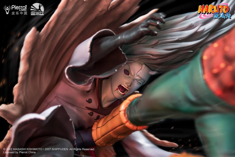 Naruto: Guy Might vs. Madara Uchiha - 1/6 Polystone Statue image