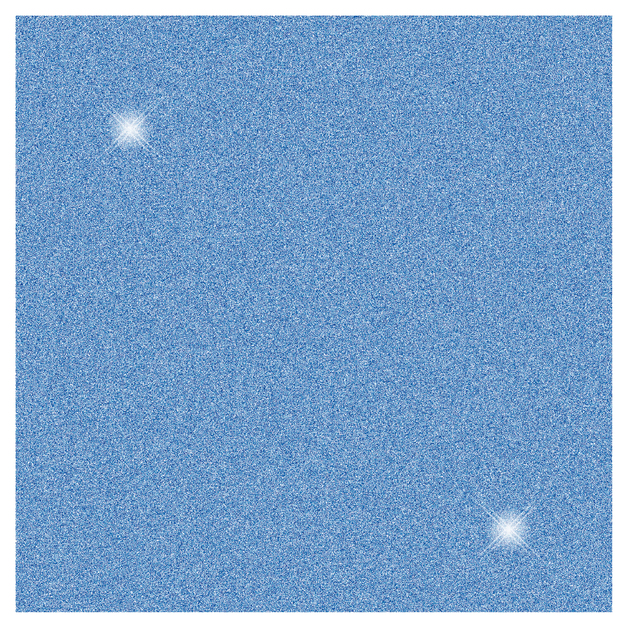 SKINZ: SPARKLZ Glitter Book Cover - Blue (45cm x 1m)