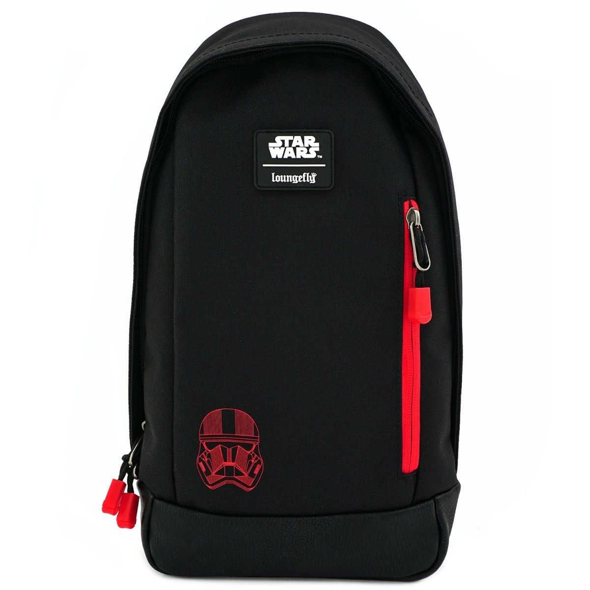 Loungefly: Star Wars - Sith Trooper Episode IX Rise of Skywalker Sling Backpack image