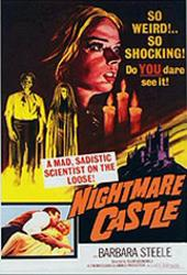 Nightmare Castle on DVD