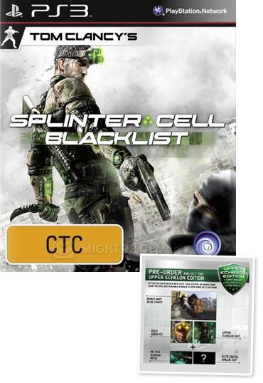 Tom Clancy's Splinter Cell Blacklist Upper Echelon Edition for PS3 image