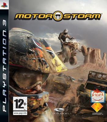 PlayStation 3 Console with MotorStorm Platinum for PS3
