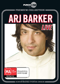 Punchline Premium:  Arj Barker Live (With Bonus Signed Poster) on DVD