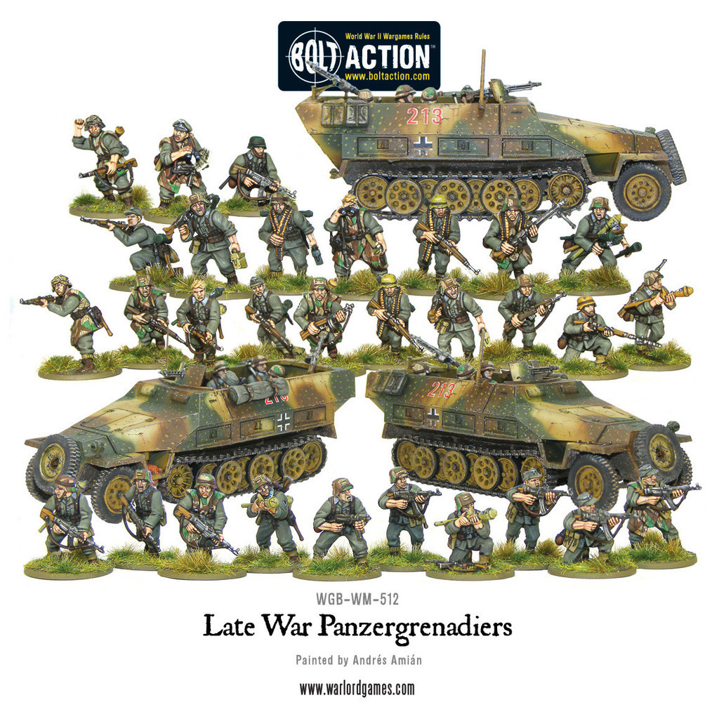 Late War Panzergrenadiers (30+3 Hanomags) image