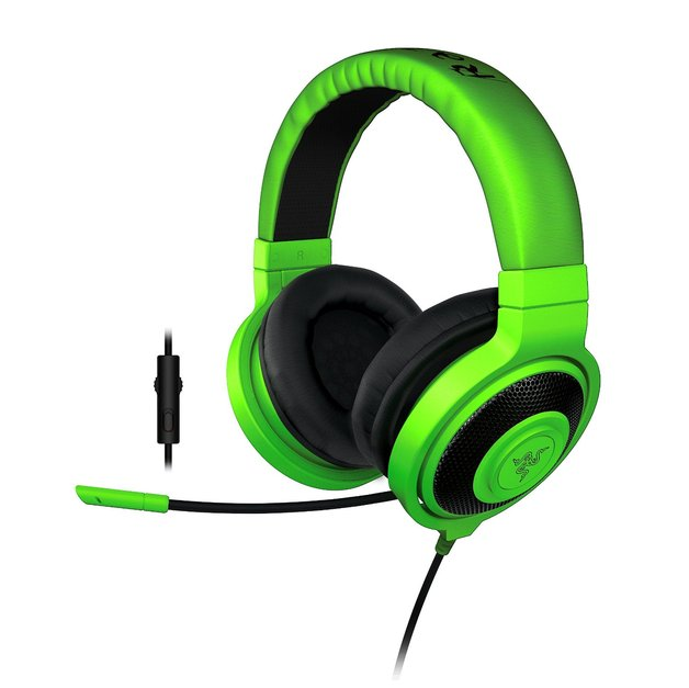 Razer Kraken Pro 2015 - Analog Gaming Headset (Green) for PC