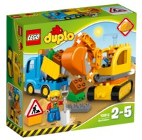 LEGO Duplo: Truck & Tracked Excavator (10812)