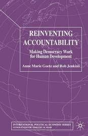 Reinventing Accountability by A Goetz