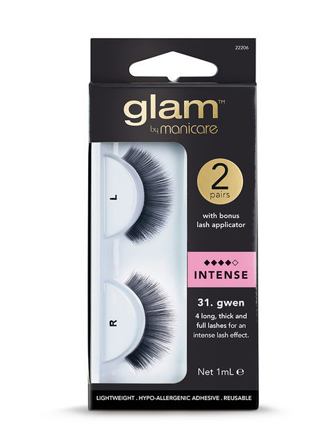 Glam by Manicare - 31. Gwen Intense Lashes (2 pk)