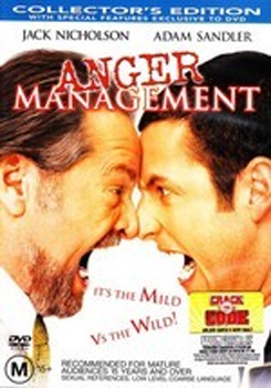 Anger Management on DVD image