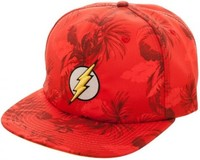 DC Comics: Flash - Mono Floral Slouch Snapback Cap