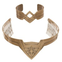 DC Comics: Wonder Woman - Tiara & Cuff Set