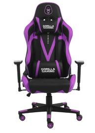 Gorilla Gaming Commander Elite Chair - Black & Magenta for