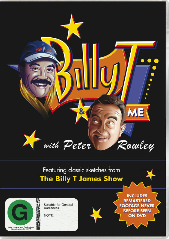 Billy T & Me on DVD