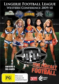 Lingerie Football League: Western Conference 2009/10 on DVD