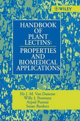 Handbook of Plant Lectins by Susan Bardocz