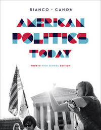 American Politics Today by William T. Bianco image
