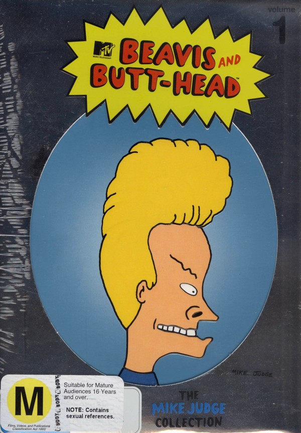 Beavis And Butt-Head - The Mike Judge Collection (3 Disc Set) on DVD image