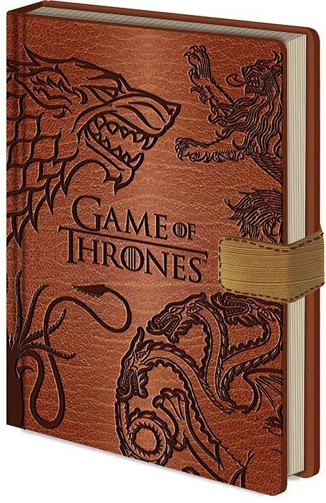 Game of Thrones: Premium A5 Notebook - Sigils
