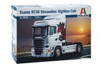 "Italeri 1/24 Scania R730 Streamline ""Highline"" - Scale Model Kit"