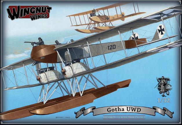 Wingnut Wings 1/32 Gotha UWD Model kit