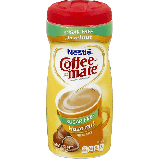 Nestle Coffee-Mate Sugar Free Hazelnut Powder