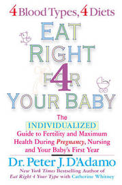 Eat Right for Your Baby by Dr Peter J D'Adamo